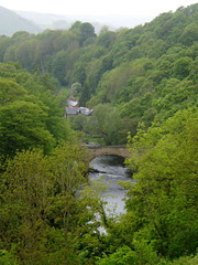 River Dee and Gate Road Bridge.