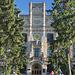Die Fassade des Hauptgebäudes NTUU-KPI