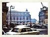 Paris, Place de l'Opéra. Décembre 1970. (Diapositive numérisée).
