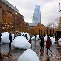 London - Ice Watch - Olafur Eliasson & Minik Rosing - 12.12.2018 -  j
