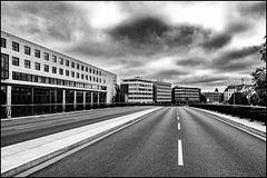 Gesperrte Straße