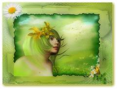 un air de printemps dans la douceur et dans l'amour de la nature
