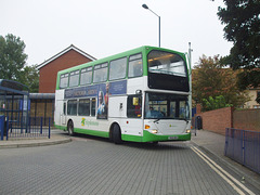 DSCF9770 Stephensons of Essex 631 (YN55 NHA) in Bury St Edmunds - 19 Sep 2017