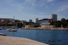 at the old port of Marseilles