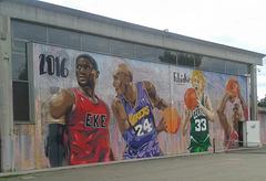 Murale sulla palestra!