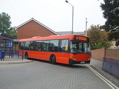 DSCF9766 Mulleys Motorways YN54 AHD in Bury St. Edmunds - 19 Sep 2017