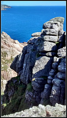 Cornish granite sea-cliff for Pam.