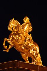 Der Goldene Reiter in Dresden