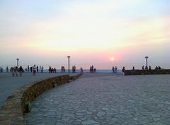 Daily sunset ritual