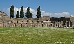 Pompeii - Gladiatorial Arena - 052014 -009