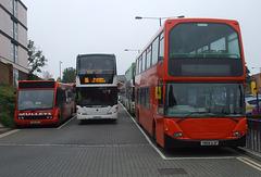 DSCF9761 Buses in Bury St. Edmunds - 19 Sep 2017