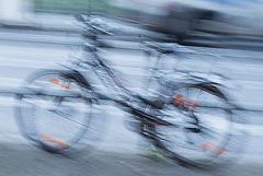 Fahrrad fährt