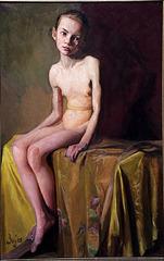 Nu de jeune fille - de Boleslas Buyko - Lituanie
