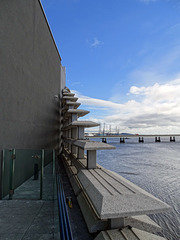 V&A looking towards  Port of Dundee