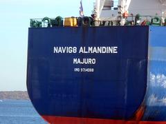 NAVIG8  ALMANDINE