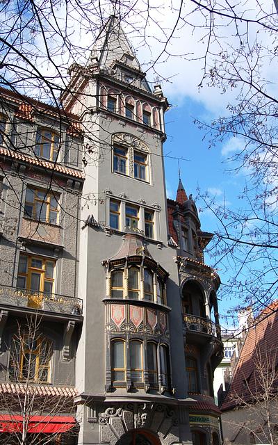 Apartments, No.17 Paritzska, Prague