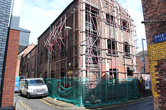 C1800 warehouse, No.7 Kelvin Street Manchester