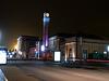 BELFORT; La Gare SNCF de nuit.