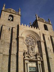 Porto Cathedral - façade.