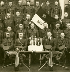 Machine Gun Troop, 13th Cavalry Regiment, Fort Riley, Kansas, January 13, 1928