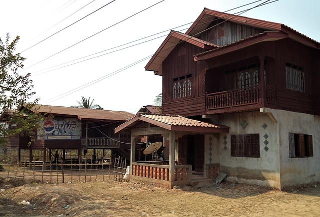 Lao Pepsi sign / Ici, c'est pepsi ! (Laos)