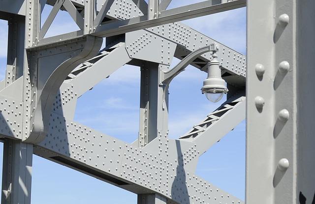Boston University Bridge detail