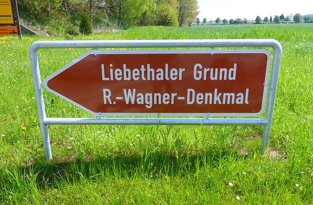 Liebethaler Grund - R.-Wagner-Denkmal