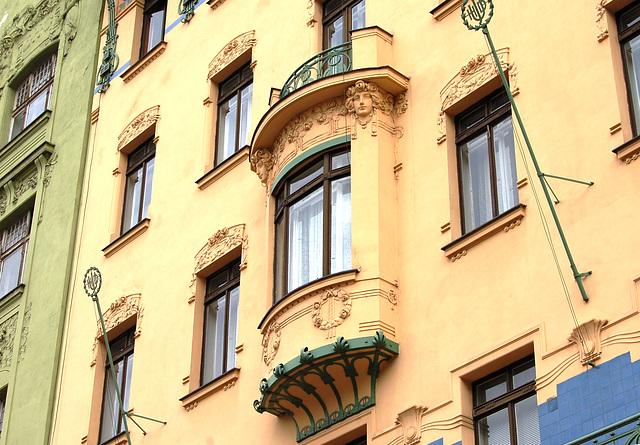 Apartments on Senovazne Namesti, Prague
