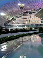 AbuDhabi : Grand Hotel Viceroy in Formula 1 ETIHAD Airwais