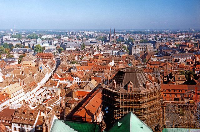 Über Straßburg