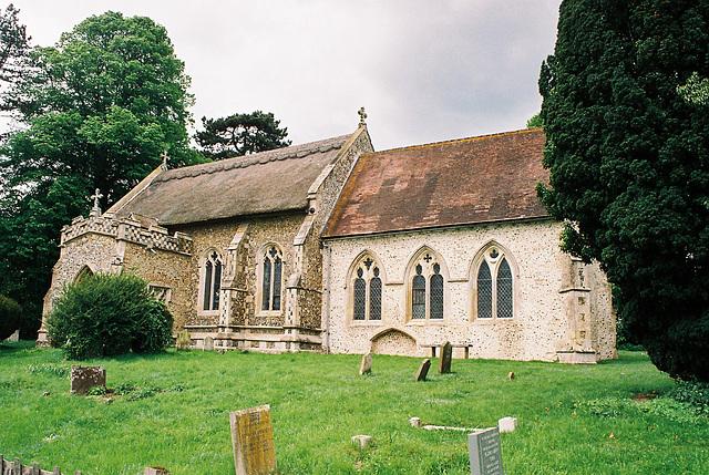 Coney Weston Church, Suffolk