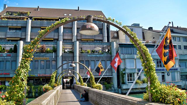 Brücke in Thun Schweiz