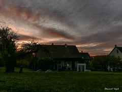 Abendrot über Neunkirch
