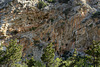 Eroded cliff face on Crete.