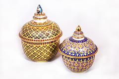Benjarong jars (Explored)