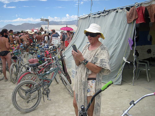 ipernity: Naked Pub Crawl Watcher - Burning Man 2016 (6966