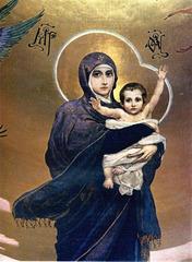 Vierge et l'Enfant, par Victor Vasnetsov