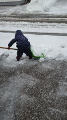 Schnee-Räum-Dienst