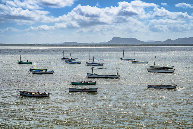Gibara fishing boats