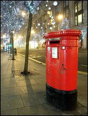 Christmas post box