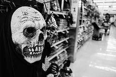 Halloween Skull Mask / Máscara Calavera Halloween