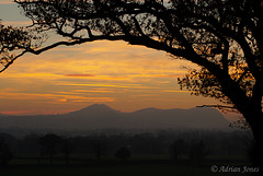Breidden Sunset