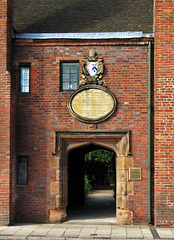 hospital of st john, lichfield, staffs