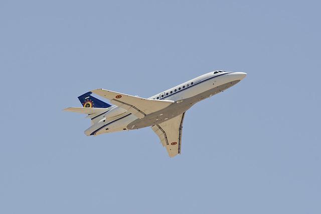 Belgian Air Component Dassault Falcon 900B CD-01
