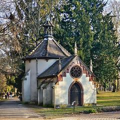 Chapel in a Park, Obernai, Alsace, France 2017-02-19_010