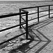 Z fence with shadow