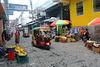 Guatemala, Street Scene in the Small Town of San Pedro La Laguna