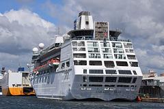 Empress of the Seas at Southampton - 5 June 2020