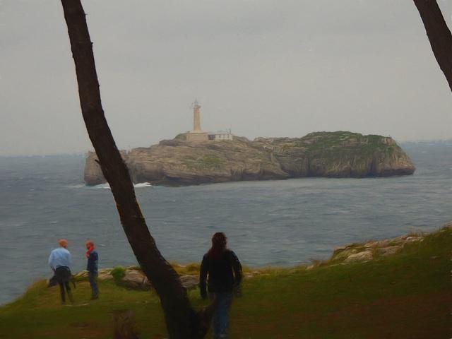 Santander lighthouse