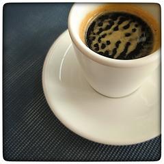 Double espresso...